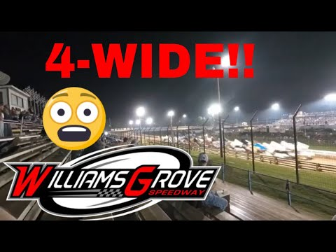 Williams Grove Speedway (2019) 410 & 360 Sprint Cars - First Visit Ever!!!