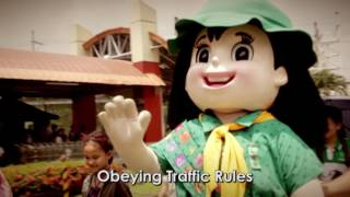 Gespie's Day Out: Obeying Traffic Rules