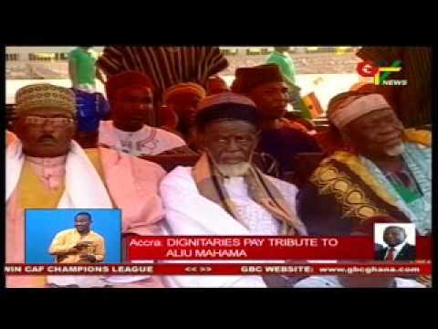Dignitaries Pay Tribute To Late Aliu Mahama