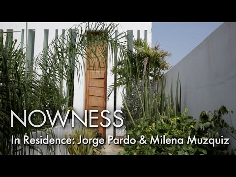 In Residence: Jorge Pardo & Milena Muzquiz - the artists Mexican hideaway