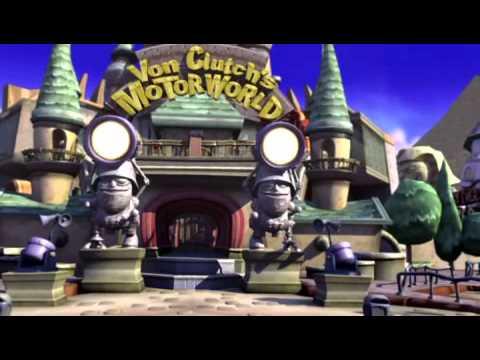 Crash: Tag Team Racing - Cutscene 1 - Enter The Dummkopfs ...