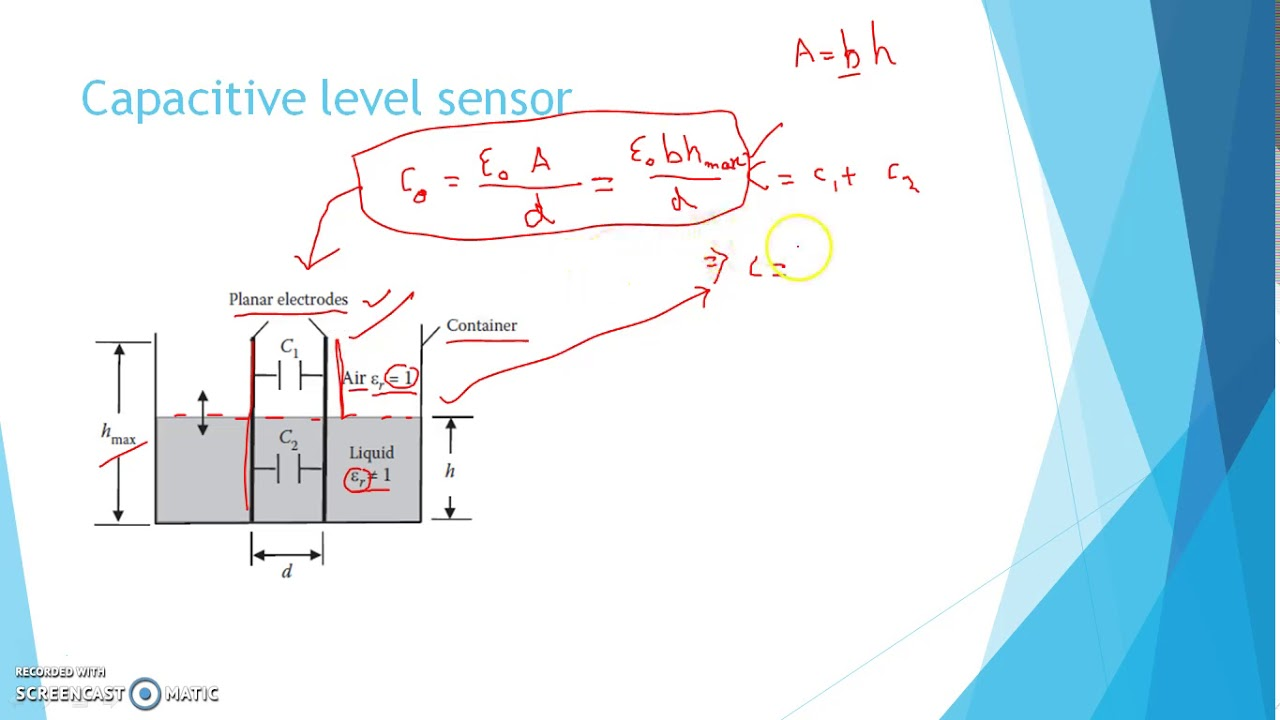 Level Measurement by Capacitive Sensor - YouTube