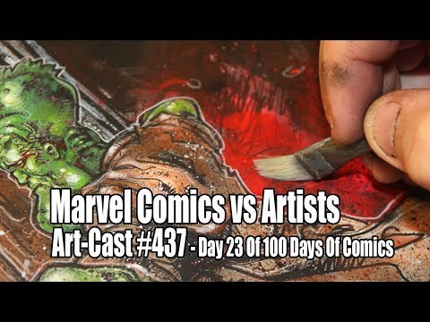 Day 23 / Marvel Comics vs. Artists