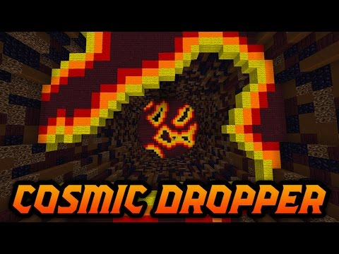 Minecraft COSMIC DROPPER! (Cosmic Themed Dropper Map) w/ Poofless