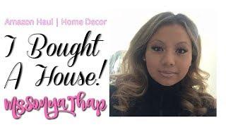 I BOUGHT A HOUSE! || Amazon haul - House Decor! Vlog style