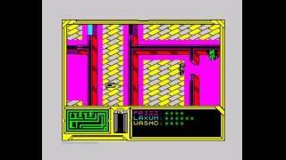 Firestorm Walkthrough, ZX Spectrum