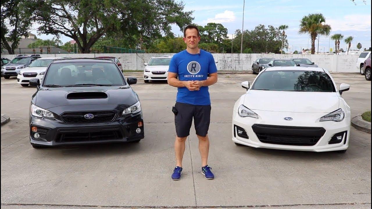 Brz Vs Wrx >> Why Compare A 2019 Subaru Wrx And Brz 31k Performance Raiti S Rides