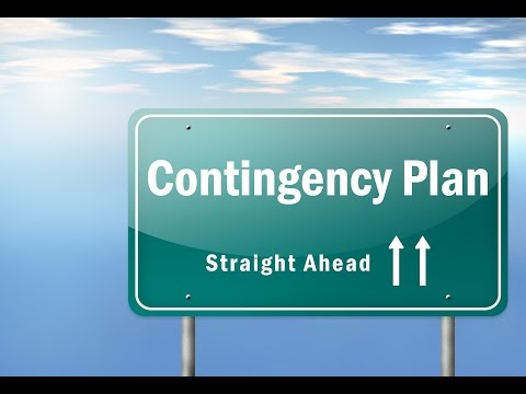 What is Contingency Plan?