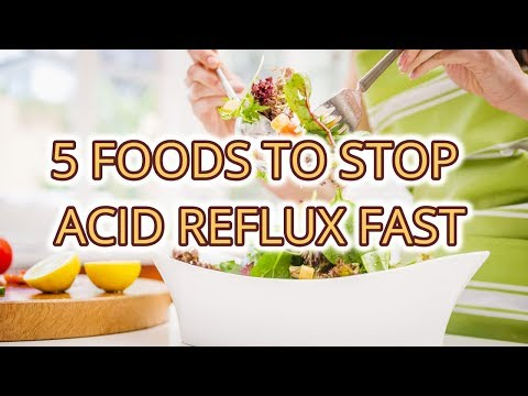5 Foods To Stop Acid Reflux Fast Cure Acid Reflux Instantly
