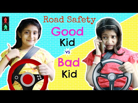 Good Kid vs Bad Kid – ROAD SAFETY | #TrafficRules #Roleplay #Fun #Sketch #MyMissAnand