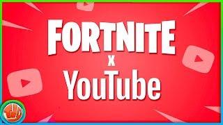 * BREAKING * Fortnite x Youtube!! 3 FREE Items UNLOCKEN!!