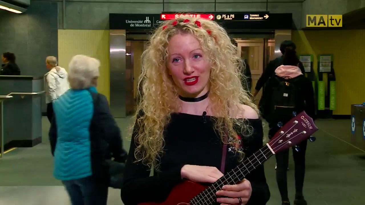 """Interview Cyriel pour MAtv """"Le métro voyage dans le temps"""""""