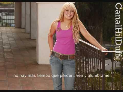 Hilary Duff - Party Up (español) mp3