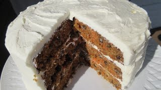 CARROT CAKE - How to make Perfectly Delicious CARROT CAKE Recipe
