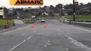 Hilux Lane Change Test June 2013
