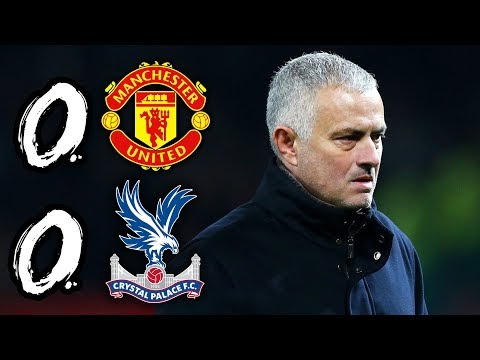 MOURINHO'S MEN BOOED AT OLD TRAFFORD  | MAN UTD 0-0 CRYSTAL PALACE