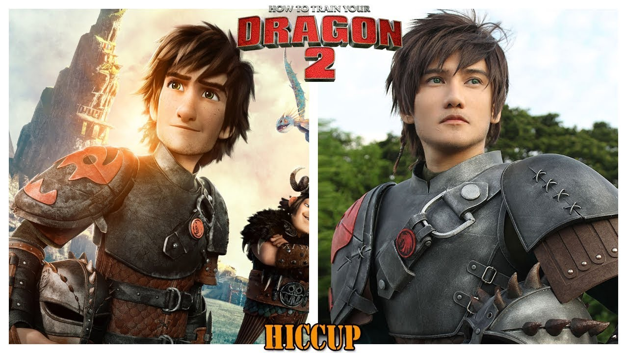 How To Train Your Dragon 2 Characters In Real Life Youtube