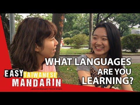 Languages you learn | Easy Taiwanese Mandarin 8