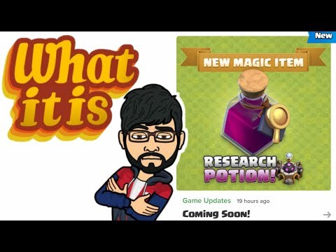 NEW UPDATE SNEAK PEEK #1 , RESEARCH POTION & HAMMER COOLDOWN , Clash Of Clans India