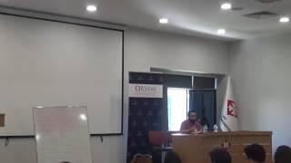 Doç. Dr. Ali Balcı, ORSAM Ortadoğu Yaz Okulu, 10.07.2017