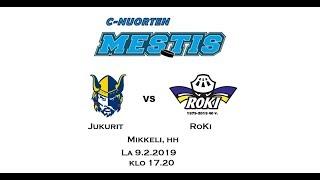 C-nuorten Mestis RoKi vs. Jukurit 9.2.2019 Mikkeli hh   7-3