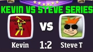 Golf clash kevin vs steve series part 1. Oh its going to be funny lol