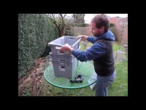 Hoe zelf een wormtoren maken youtube for Zelf een tuintafel maken