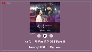 Download lagu [韓繁中字] Gummy(거미) - My Love - The King : 永遠的君主 OST Part 11