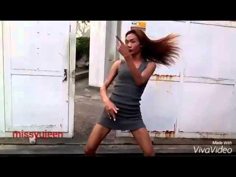 Shemale dancing