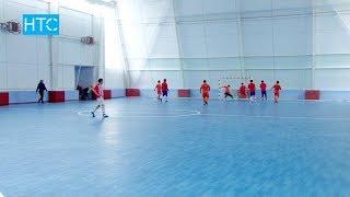 Новая арена для мини-футбола открылась в Бишкеке / 06.12.17 / НТС