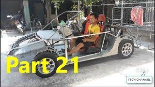 Homemade Lamborghini car part 21