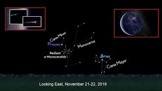 Meteor Alert: Outburst of Shooting Stars Expected from the Alpha Monocerotids