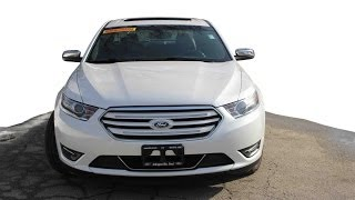 Ford Taurus Limited - Chicago News Test Drive