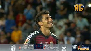 Pachuca vs Tigres 3-3 RESUMEN PENALES Cuartos De Final Copa Mx Apertura 2018