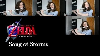 Legend of Zelda: Song of Storms for Flute