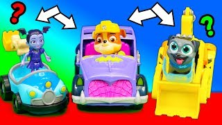 Paw Patrol Have a car Switch-a-roo with Puppy Dog Pals