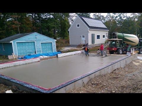 Garage Workshop Super Insulated Radiant Floor