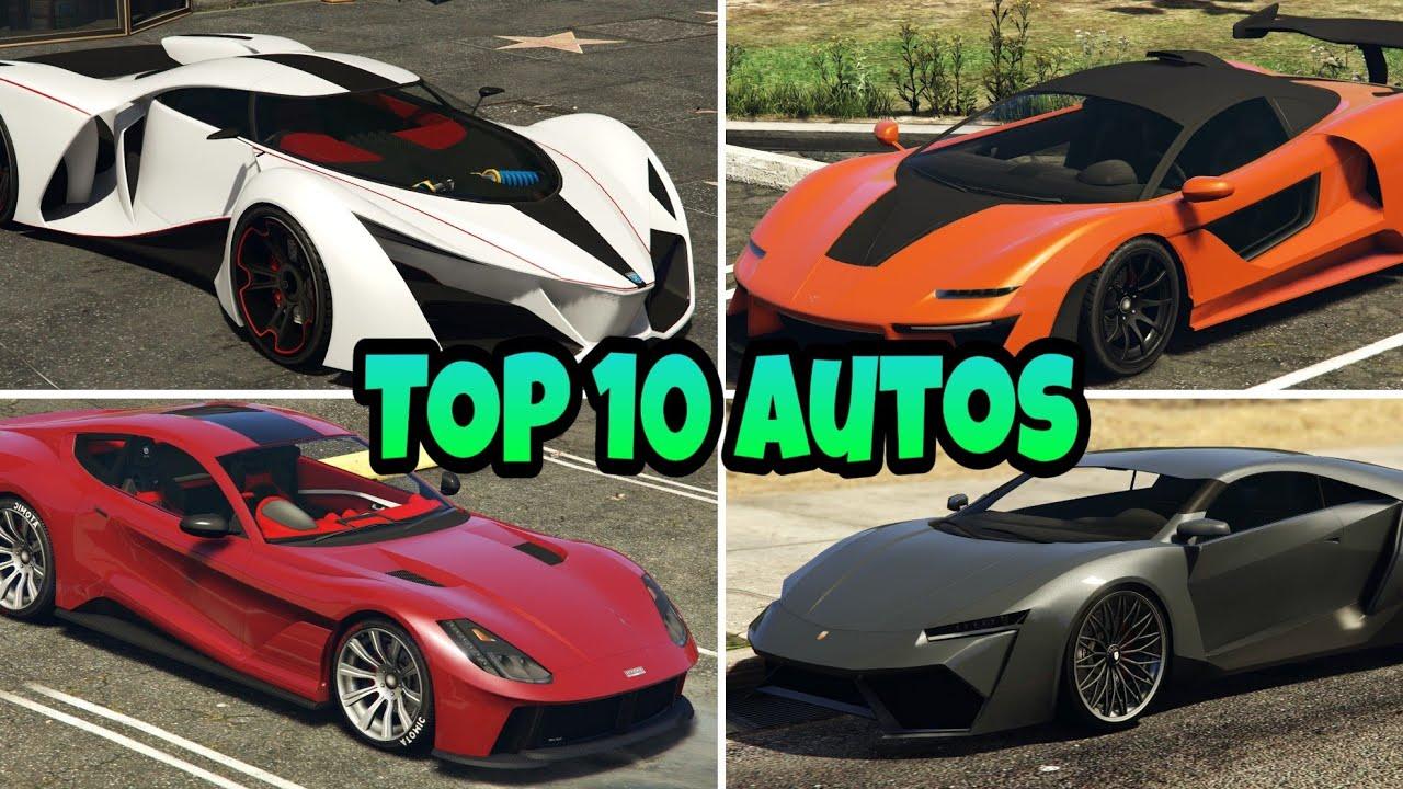 DIE TOP 10 BESTEN AUTOS IN GTA 5 ONLINE (2021)