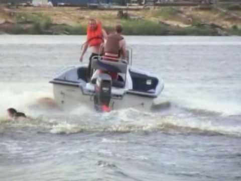 Kneeboarding @ Riverfront Park, Beaumont, TX