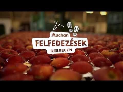 Auchan Felfedezések - Alma és almalé, Derecske