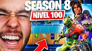 **SEASON 8** SKIN LEVEL 100! ALL PURCHASED - Fortnite (Battle Pass) - TheGrefg