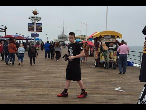 VISITING THE SANTA MONICA PIER - Vlog Week Day #2 | Brandon Hodge Vlog #25