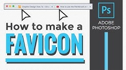 How to make a Favicon with Adobe Photoshop