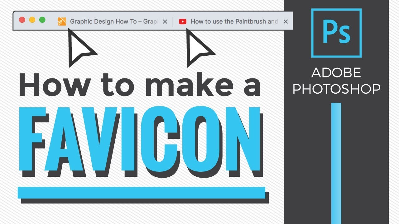 How To Make A Favicon With Adobe Photoshop Youtube