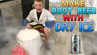 Dry Ice Root Beer Explosion