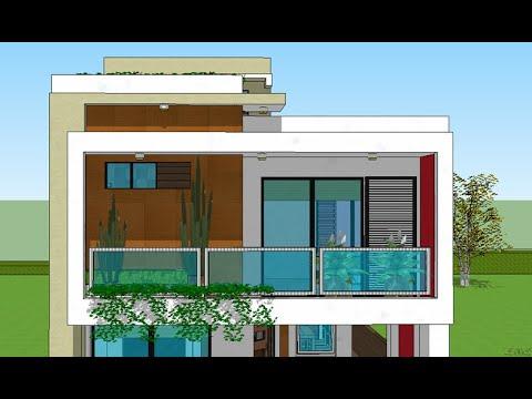 Plano casa terreno 8x20 mts casa zapopan jalisco doble - Terreno con casa ...