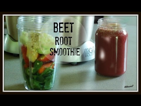 How I Prepare Beetroot  Spinach Smoothie