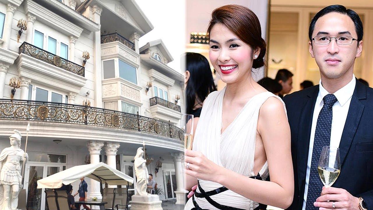 Cận cảnh Biệt thự dát vàng trăm tỷ của nhà chồng Tăng Thanh Hà - TIN TỨC 24H TV