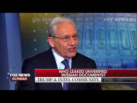 Bob Woodward: Russia Dossier on Trump a 'Garbage Document'