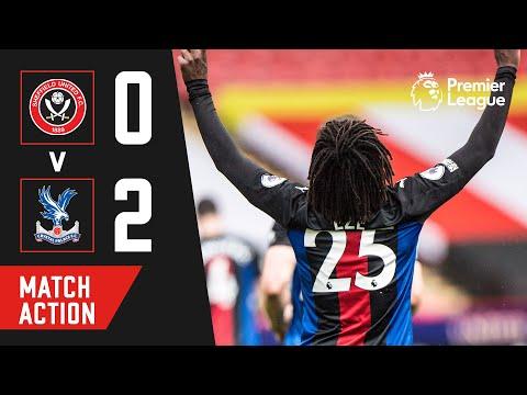 EZE SCORES AGAIN | Crystal Palace 2-0 Sheffield United | Match Action